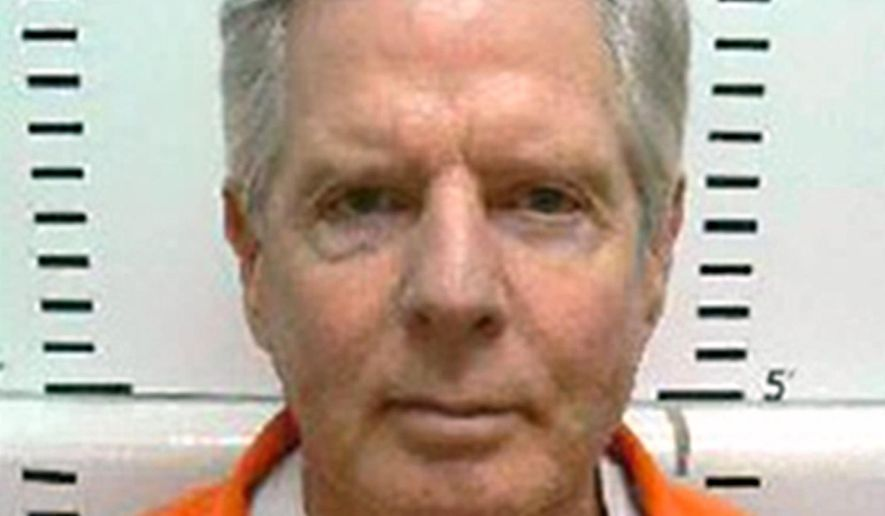 This undated photo provided by the South Dakota Department of Corrections shows Gene Kirkpatrick, an Oklahoma man serving a life term in the South Dakota State Penitentiary for the October 2009 death of Fargo dentist Philip Gattuso. Kirkpatrick is taking his case to federal court. He said in his handwritten federal court filing that his lawyers did a poor job of representing him and his statements to police should not have been admitted in court. (South Dakota Department of Corrections via AP)