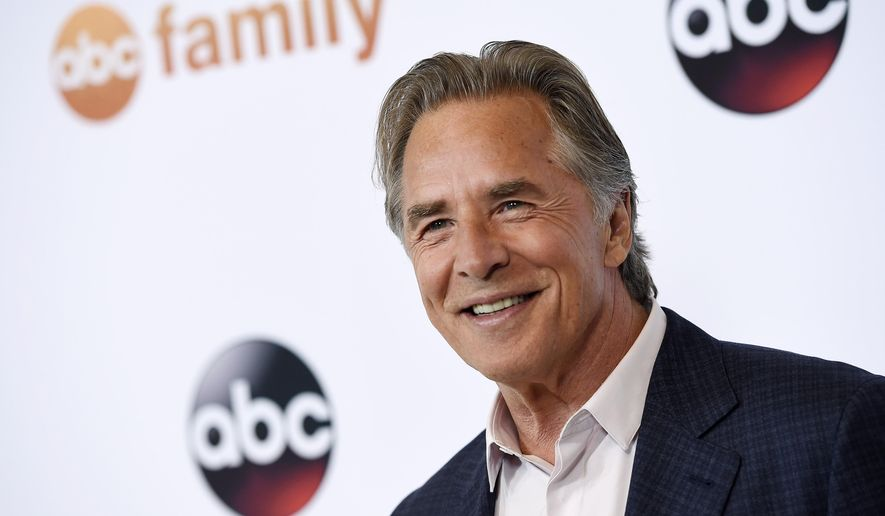 "Don Johnson, a cast member in the television series ""Blood and Oil,"" poses at the Disney ABC Television Group party during the 2015 Television Critics Association Summer Press Tour at the Beverly Hilton on Tuesday, Aug. 4, 2015, in Beverly Hills, Calif. (Photo by Chris Pizzello/Invision/AP)"