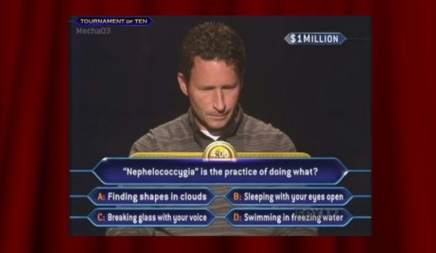 Millionaire Quiz #1