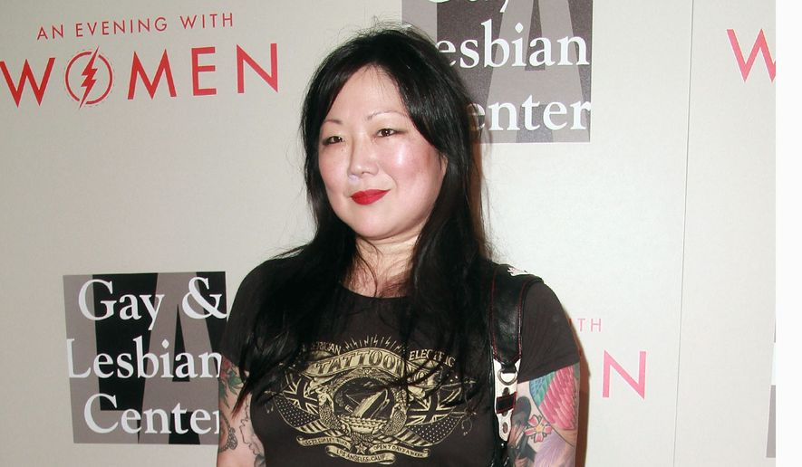 "In regards to her new show, ""PsyCHO,"" Margaret Cho said ""The subtitle of the show is ""There's no 'I' in team, but there is a CHO is psycho."" (Associated Press)"