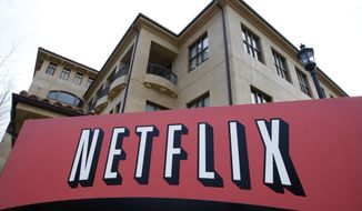 Netfilx headquarters in Los Gatos, Calif., where on Tuesday, Aug. 4, 2015 officials announced the firm is letting new parents on its payroll to take up to a year's paid leave in a move that could pressure other technology employers to improve their baby benefits as they vie for talent. (AP Photo/Paul Sakuma, File)