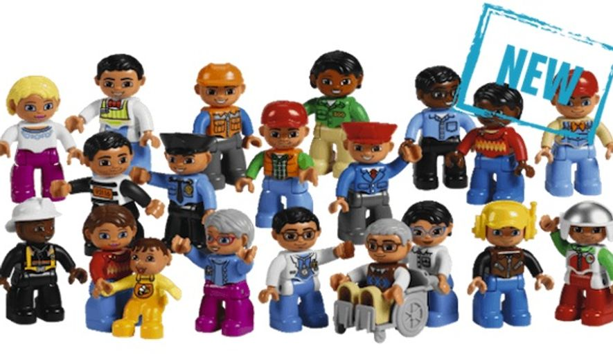 """Lego's diverse """"Community People Set"""" has sparked the ire of disability activists who believe the figurine depicting an elderly man in a wheelchair presents children with a negative stereotype of disability. (Lego)"""
