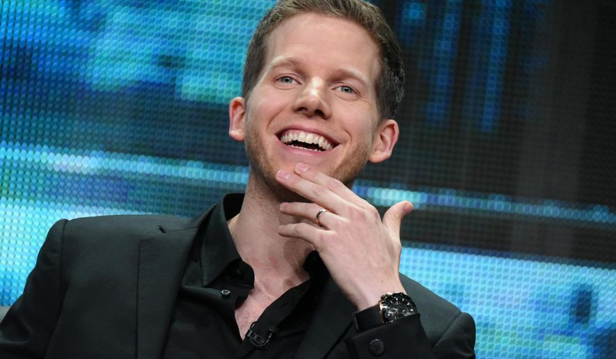 "Stark Sands participates in the ""Minority Report"" panel at the Fox Summer TCA Tour at the Beverly Hilton Hotel on Thursday, Aug. 6, 2015, in Beverly Hills, Calif. (Photo by Richard Shotwell/Invision/AP)"