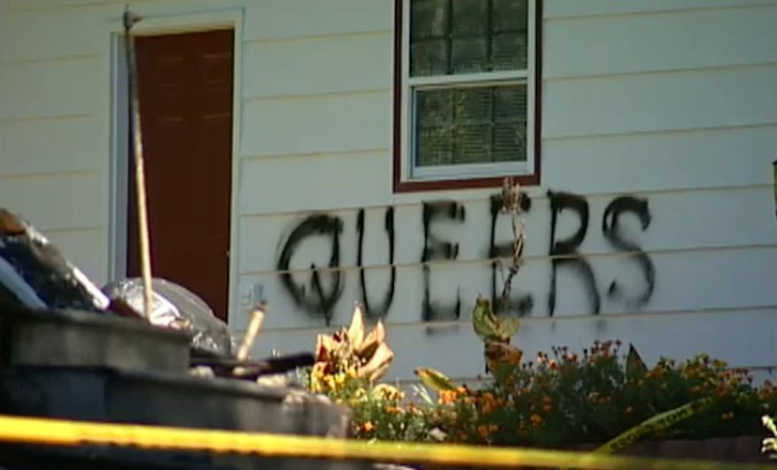 Carol Ann Stutte and Laura Jean Stutte burned down their Tennessee home and then tried to cover it up as a hate crime in an effort to collect a $276,000 insurance pay out, a federal jury has concluded. (WBIR)