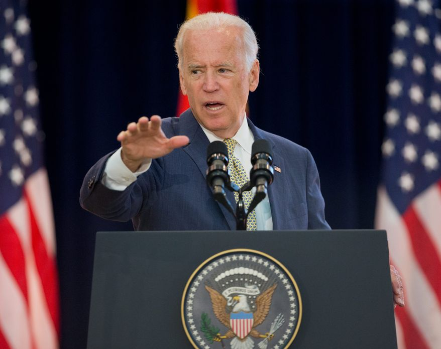 With former Secretary of State Hillary Rodham Clinton facing tough questions and government oversight inquiries about her private email server, Vice President Joseph R. Biden may well enter the 2016 Democratic presidential race. (Associated Press)