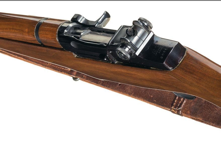John F. Kennedy's historic M1 Garand rifle goes up for auction -- and bids could reach $100,000 (image from the Rock Island Auction Company)