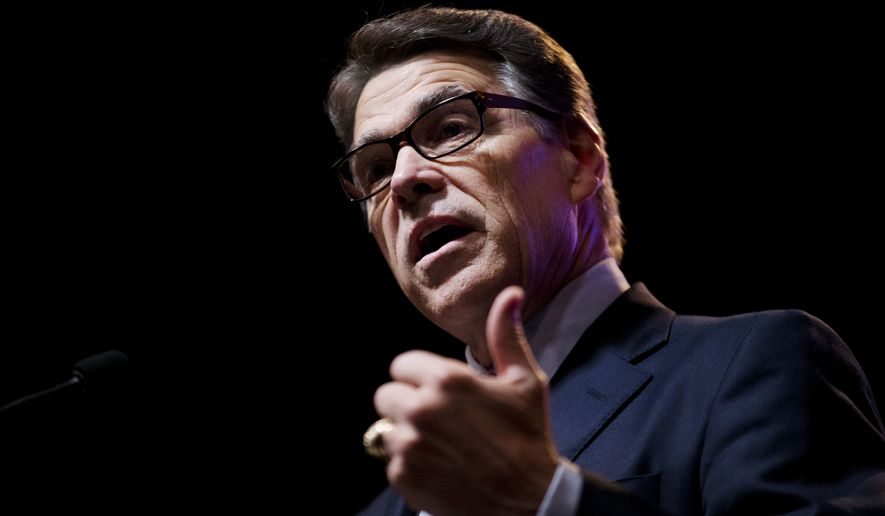 Rick Perry has struggled in both fundraising and polling. He has barely risen above 1 or 2 percent support and didn't make the Top 10 candidates invited to the main prime-time debate on Fox News last week. (Associated Press)