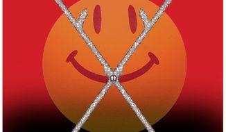 Illustration on the nonchalant attitude toward abortion by Alexander Hunter/The Washington Times