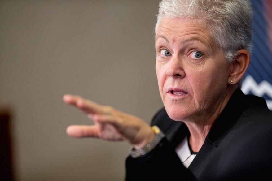 "Environmental Protection Agency Administrator Gina McCarthy said Tuesday she was ""deeply sorry"" for her agency's wastewater spill from Colorado's Gold King Mine. (Associated Press)"