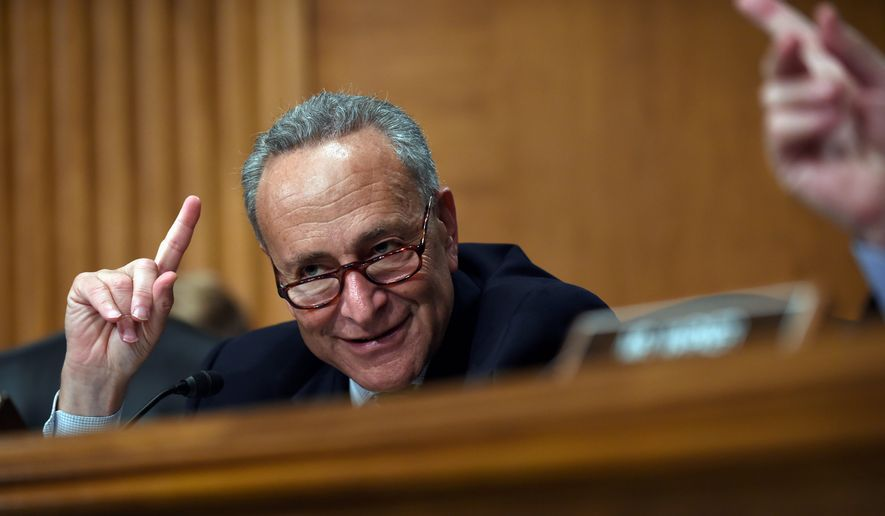 Sen. Charles E. Schumer, whose home base of New York has a large Jewish population, is the most prominent Democratic opponent of the Iran nuclear deal, and polls show many of his constituents agree with him. (Associated Press)
