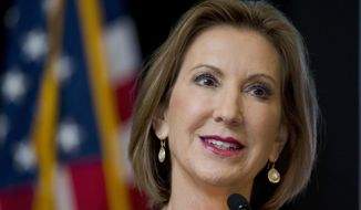 Pollsters say Carly Fiorina got the biggest jump from last week's debates. Every major survey, nationally and in key early states, showed positive movement. (Associated Press)