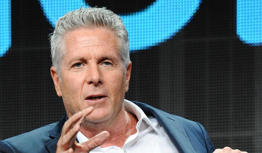 """TV personality Donny Deutsch participates in the """"donny!"""" panel at the NBCUniversal Summer TCA Tour at the Beverly Hilton Hotel on Wednesday, Aug. 12, 2015, in Beverly Hills, Calif. (Photo by Richard Shotwell/Invision/AP) ** FILE **"""