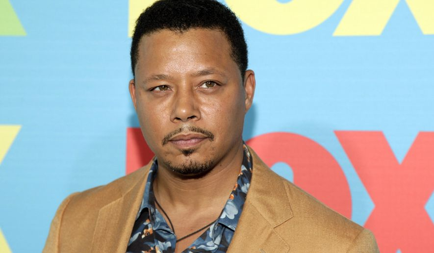 "FILE - In this May 12, 2014 file photo, actor Terrence Howard attends the FOX Network 2014 Upfront event in New York. The ""Empire"" star Howard returns to a Los Angeles courtroom on Thursday, Aug. 13, 2015, to try to overturn a divorce settlement with his ex-wife that he contends was reached through extortion. (Photo by Andy Kropa/Invision/AP, File)"