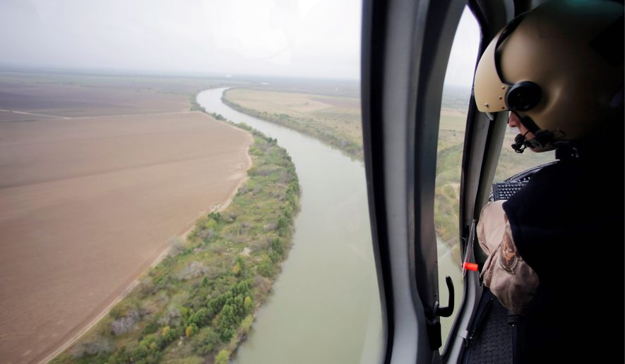 U.S. Customs and Border Protection Air and Marine agents patrol along the Rio Grande on the Texas-Mexico border. A report shows that immigration to the U.S. has recovered from its recession-caused lull and is surging back, led in part by a major jump in migrants from neighboring Mexico. (Associated Press)