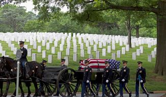 The 624-acre Arlington National Cemetery has been active since the Civil War but will run out of grave sites by 2025. (Associated Press)