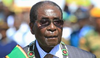 Zimbabwean authorities have asked millions of unemployed citizens with college degrees to register as part of president Robert Mugabe's plan to export educated workers. (Associated Press)