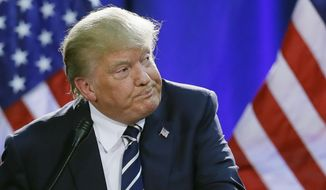 Donald Trump is universally acknowledged as the Republican front-runner, with a media appeal unseen in years. (Associated Press)