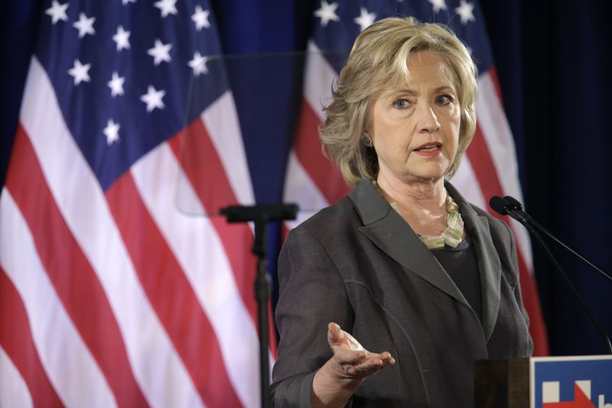 Exiting senior Cabinet officials, such as Hillary Rodham Clinton as a former secretary of state, typically take their security clearances with them. The practice allows them to be called on to offer advice to their former department or to serve on boards and commissions that might handle classified data. (Associated Press)