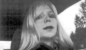 "Former Army Pvt. Bradley ""Chelsea"" Manning would be more welcome at the transgender-only VA clinic in Cleveland than others who have served their country. (AP Photo/U.S. Army, File)"