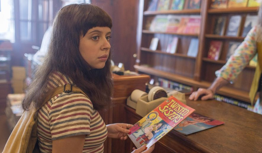"This photo provided by Sony Pictures Classics shows, Bel Powley as Minnie Goetze, in a scene from the film, ""The Diary of a Teenage Girl.""  (Sam Emerson/Sony Pictures Classics via AP)"