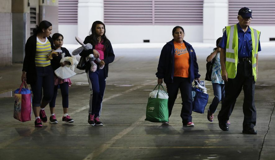 Illegal immigrants' rights are being violated at a detention facility in California, according to a complaint filed Tuesday. (Associated Press/File)