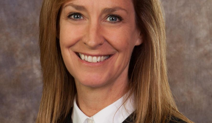 This undated photo provided by the Nebraska Supreme Court shows Judge Stephanie F. Stacy. The Lancaster County judge with more than two decades of legal experience will become the second woman in state history to serve on the Nebraska Supreme Court, Gov. Pete Ricketts announced Friday, Aug. 14, 2015. (Nebraska Supreme Court via AP)