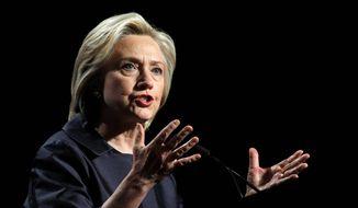 Hillary Clinton (Associated Press) ** FILE **
