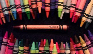 Crayola crayons. (AP Photo/Dan Loh)