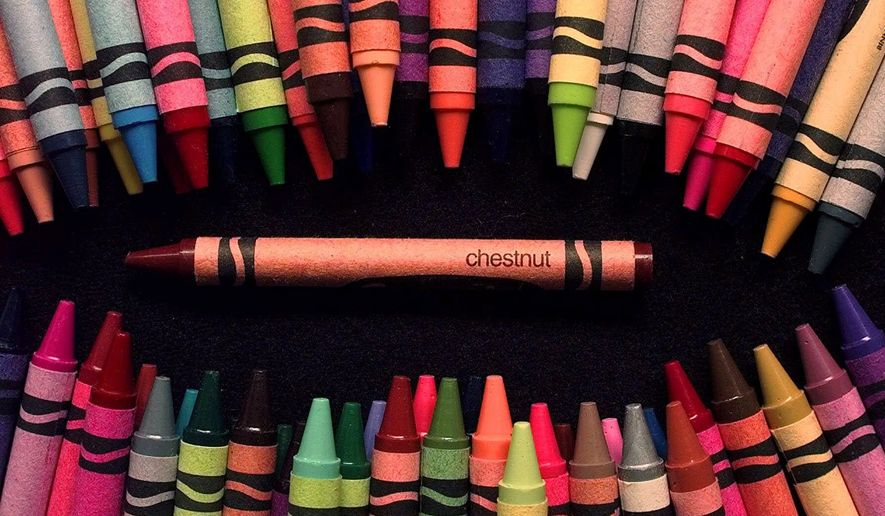 Crayola crayons. (AP Photo/Dan Loh)