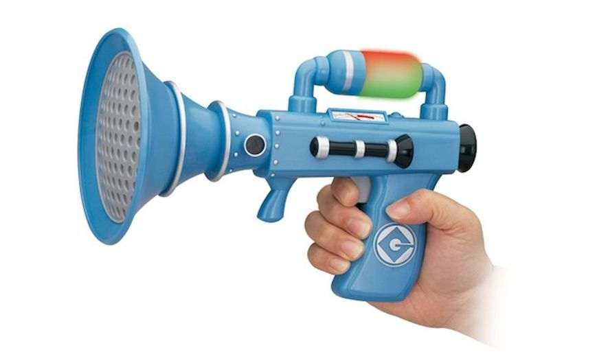 """Leo Fitzpatrick, 3, was reportedly forced to surrender his """"Despicable Me Fart Blaster"""" toy over to Dublin Airport security before he could continue on to his flight to England after the toy was deemed a security risk. (Amazon)"""