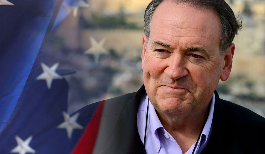 GOP hopeful Mike Huckabee is off to Israel this week, the Iran deal on his mind. (Campaign image from Mike Huckabee)