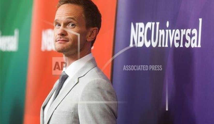 Neil Patrick Harris arrives at the NBCUniversal Summer TCA Tour at the Beverly Hilton Hotel on Thursday, Aug. 13, 2015, in Beverly Hills, Calif. (Photo by Rich Fury/Invision/AP)