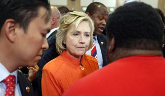 Democratic voters in New Hampshire, home to the first-in-the-nation primary, are expressing reserves about Hillary Rodham Clinton, with many viewing her as cold and distant. (Associated Press)