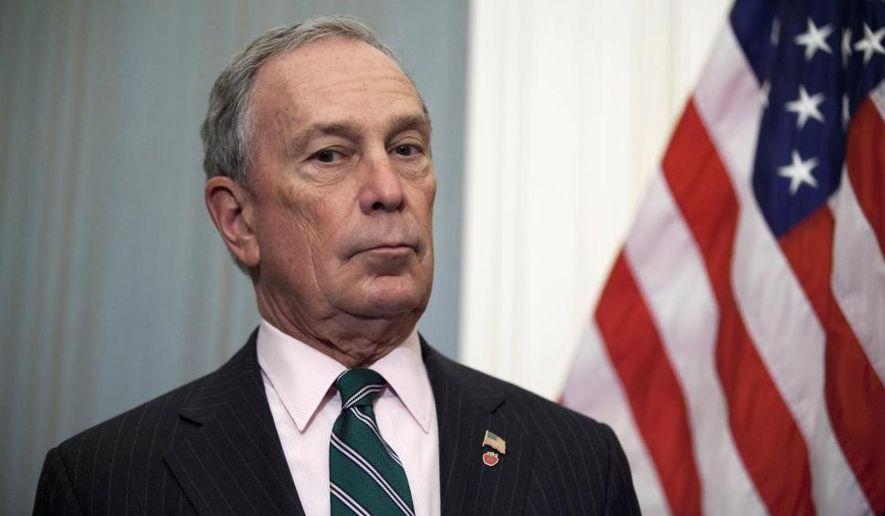 Former New York City Mayor Michael Bloomberg (Associated Press) **FILE**