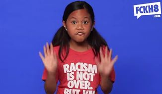 FCKH8, a T-shirt company known for using little kids to push controversial messages, has posted a new video showing foul-mouthed children trash-talking the Confederate flag. (FCKH8)