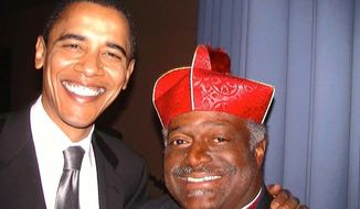 The Riviera Beach City Council in South Florida will vote Wednesday on a proposal by Mayor Thomas Masters (right) to rename Old Dixie Highway after President Obama. (Facebook/Mayor Bishop Thomas Masters)