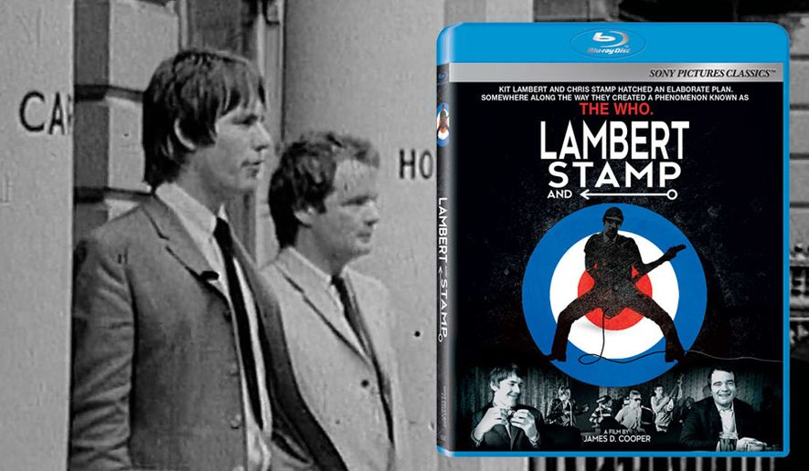 Chris Stamp and Kit Lambert star in Lambert & Stamp, now on Blu-ray from Sony Pictures Home Entertainment.