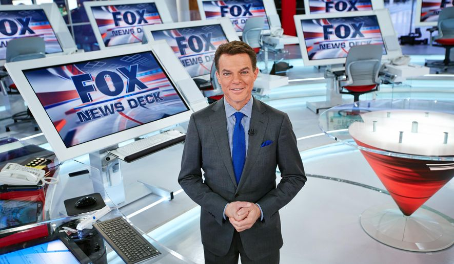 "Fox News Channel, chief news anchor and managing editor of the news division Shepard Smith on the FOX News deck in New York. Smith will anchor a special this weekend about the 10th anniversary of Hurricane Katrina. Fox News begins the television remembrances Friday at 10 p.m. EDT with ""Hurricane Katrina, Storm of a Lifetime."" (Fox News Channel via AP)"