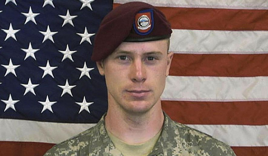 This undated file image provided by the U.S. Army shows Sgt. Bowe Bergdahl. The lawyer representing Bergdahl, who left his infantry post and was held by the Taliban for five years, says callous statements Donald Trump is making about his client are threatening the soldier's right to a fair trial.(AP Photo/U.S. Army, file)