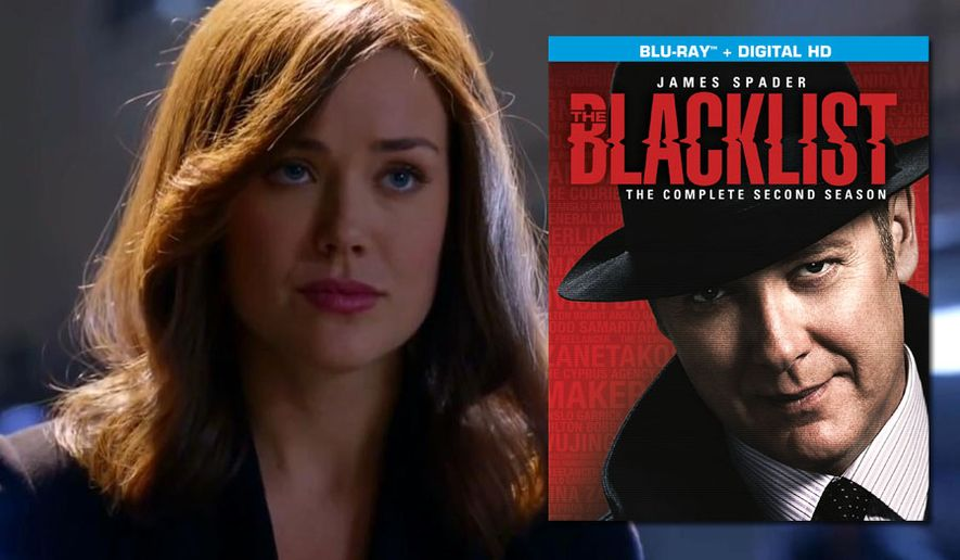 "Megan Boone and James Spader star in ""The Blacklist: The Complete Second Season"" now on Blu-ray from Sony Pictures Home Entertainment."