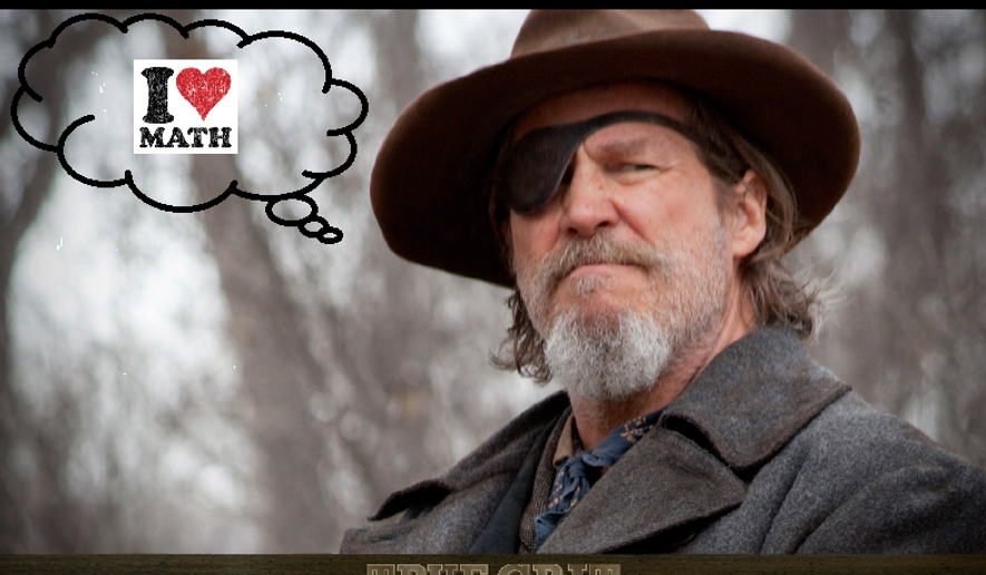 "Image of actor Jeff Bridges, from the movie ""True Grit."" Image created by W. Scott Lamb."