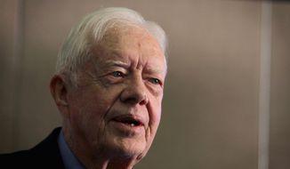 Jimmy Carter     Associated Press photo