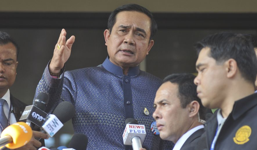 With the Bangkok shrine bomber still at large and investigators unable to answer many basic questions about how and why the attack was carried out, Prayuth Chan-ocha, who seized power in a military coup last year, and his government have been facing increased scrutiny and opposition. (Associated Press)