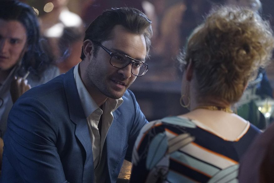 """Actor Ed Westwick is shown here in this photo released by ABC from a scene from its drama """"Wicked City."""" Mr. Westwick was accused on Nov. 6, 2017, by actress Kristina Cohen of rape, which he denies. (Eric McCandless/ABC via AP) **FILE**"""