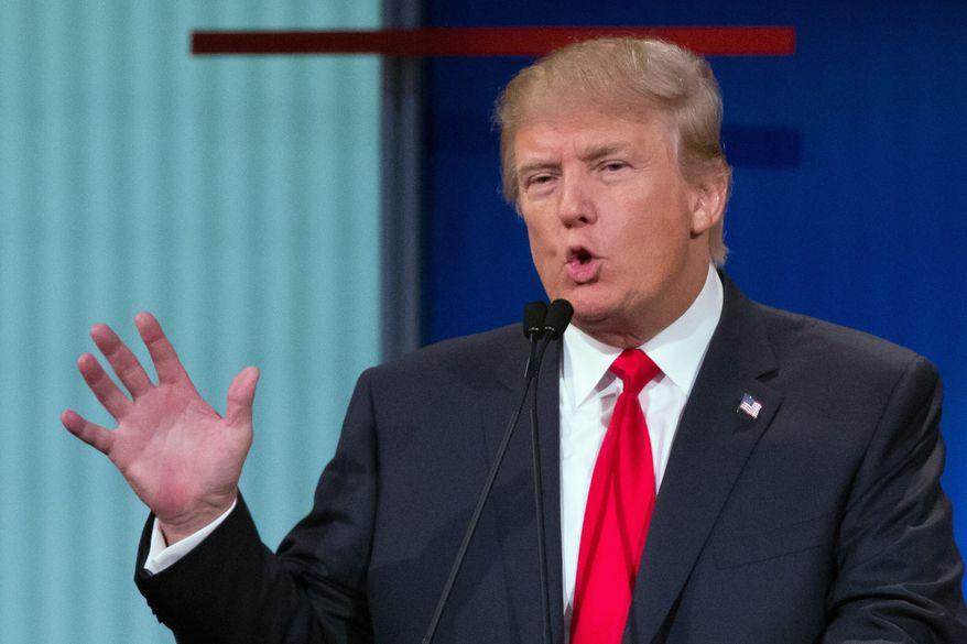 Donald Trump. (AP Photo/File)