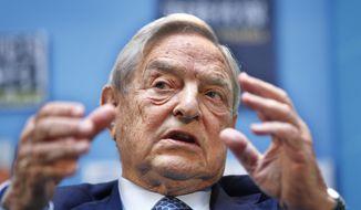 George Soros (Associated Press) **FILE**