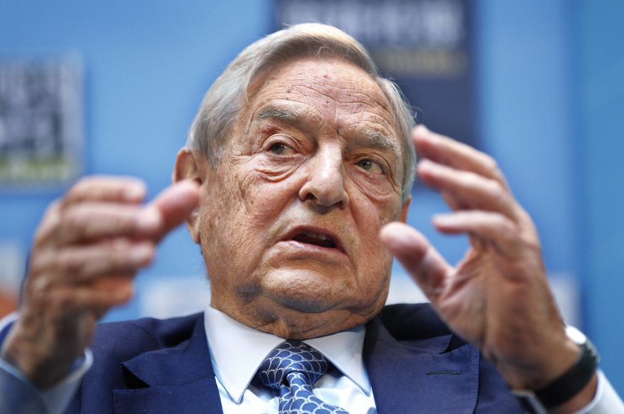 George Soros (Associated Press) **FILE**