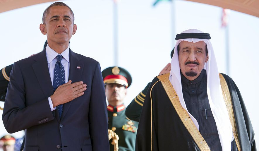 Saudi-U.S. ties will be under scrutiny again when 79-year-old King Salman bin Abdulaziz Al Saud makes an expected visit to Washington next month, his first since ascending to the throne. (Associated Press)