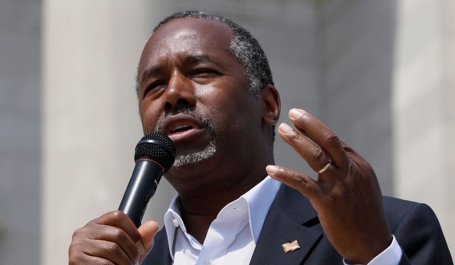 Ben Carson has gained ground to become the No. 2 Republican candidate behind Donald Trump. (Associated Press)