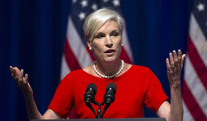 "Cecile Richards, president of the Planned Parenthood Federation of America, admitted in an 11-page letter on Aug. 27 that its affiliates have accepted payments ranging from $45 to $60 ""per tissue specimen"" from abortions, but said that they were reimbursements to cover costs, which federal law allows. (Associated Press) ** FILE **"